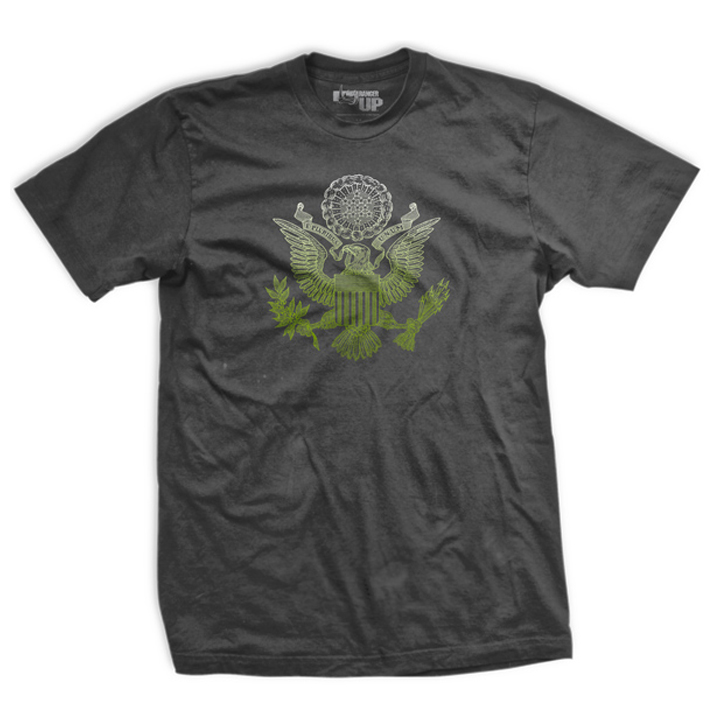 Ranger Up The Balance T-Shirt - Gray
