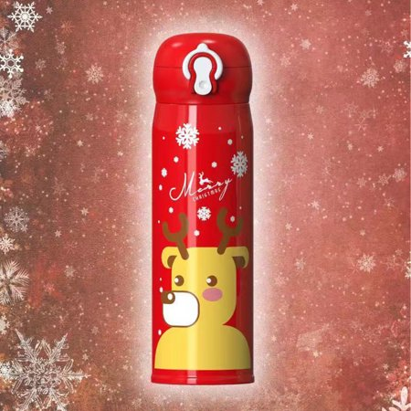 LeKing Children' s Thermos Mug Portable Cartoon Cup Gift for Children Christmas - image 2 of 2