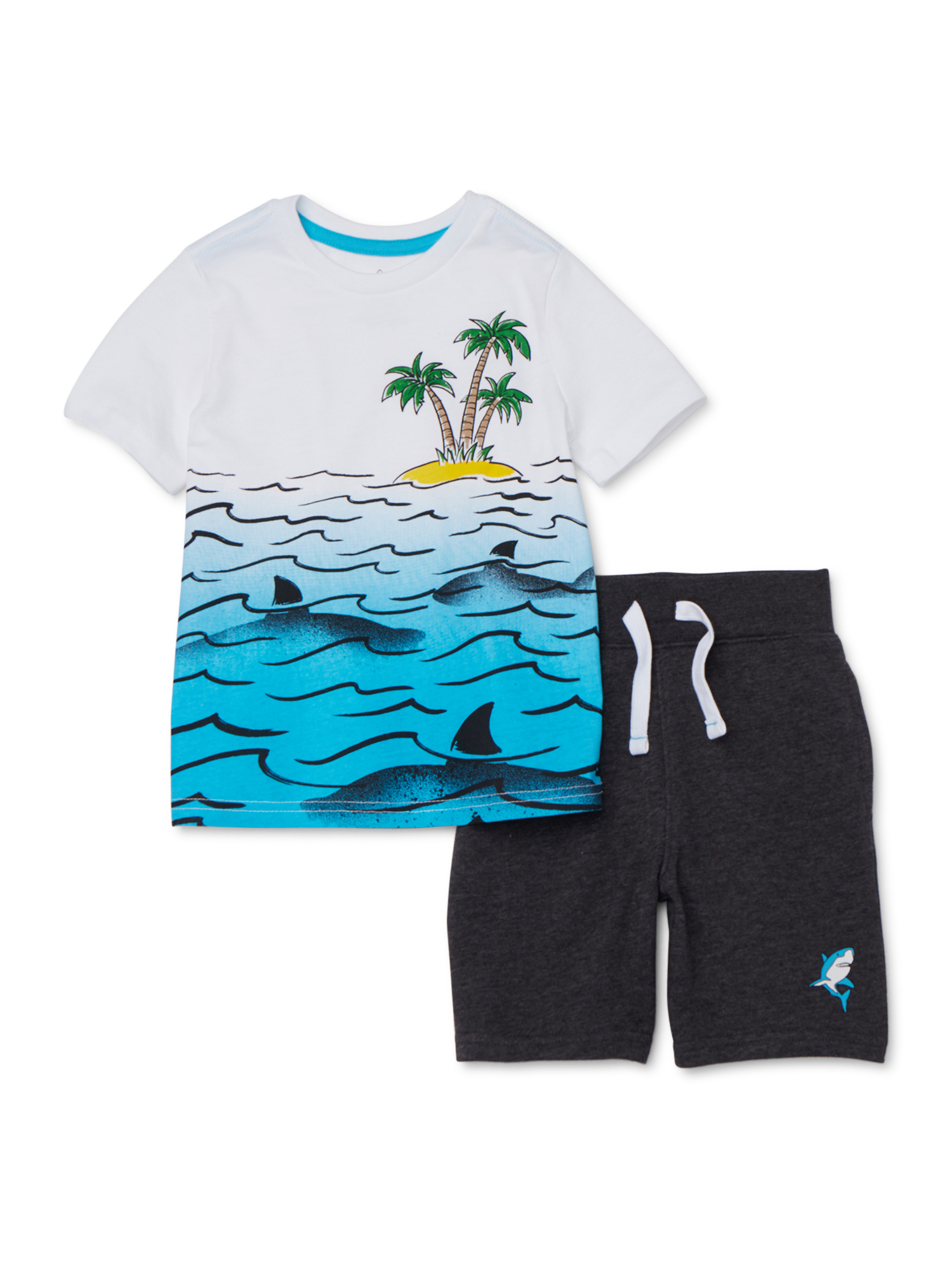 Akademiks newborn boy/'s 2 piece set polo /& shorts