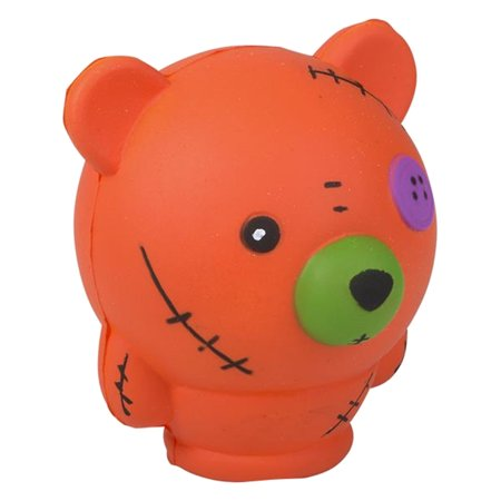 Halloween Monster Orange Bear Squishie Toy Party Favor (Monster Ball Halloween Party Ideas)