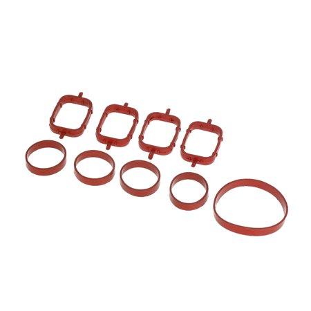 4 PCS Intake Manifold Gaskets Inlet Kit for BMW 320d 330d 520d 525d 530d 730d