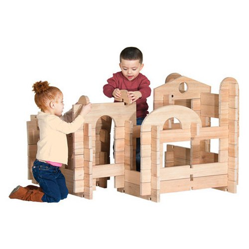 Guidecraft Notch Blocks Set, 89pc