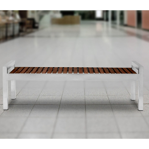 Commercial Zone Skyline Stainless Steel Bench