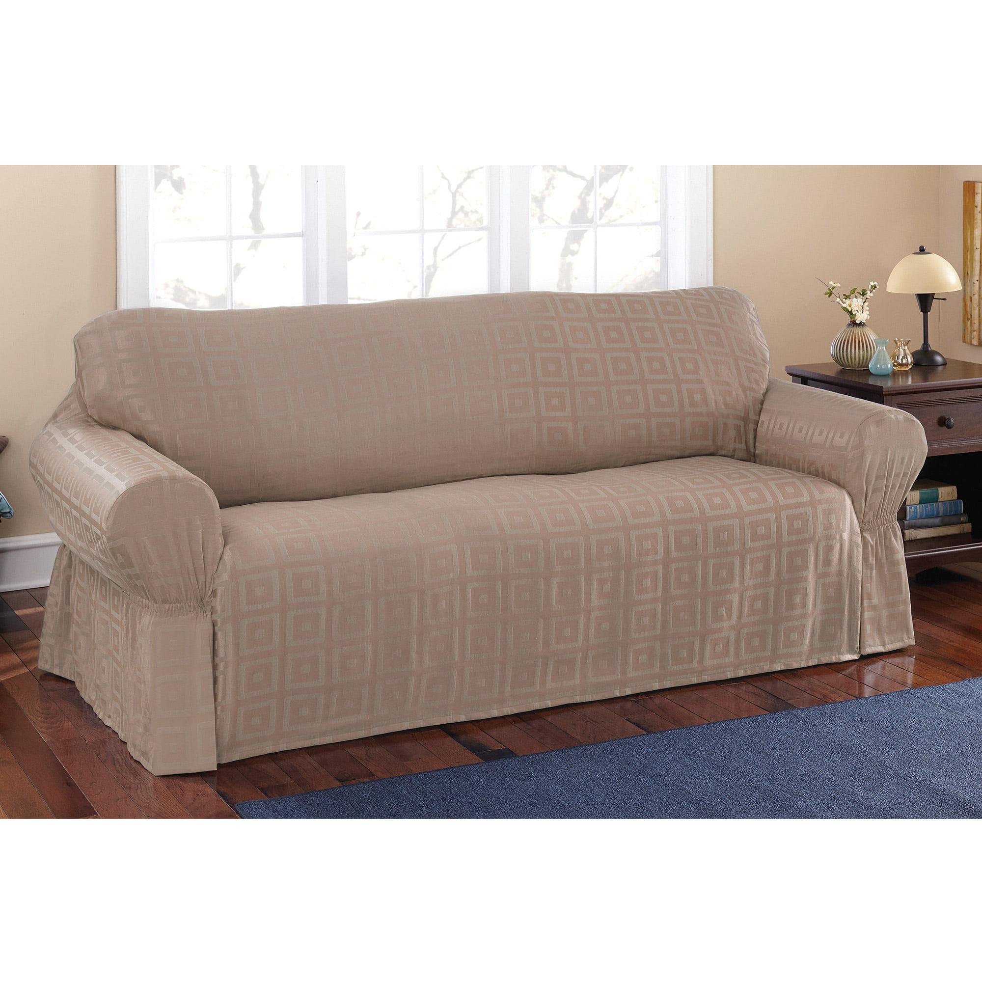 Mainstays Sherwood Slipcover Sofa