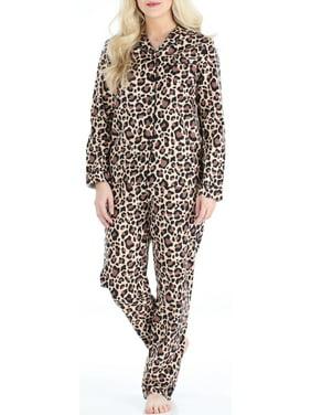 PajamaMania Women's Cotton Flannel Long Sleeve Pajamas