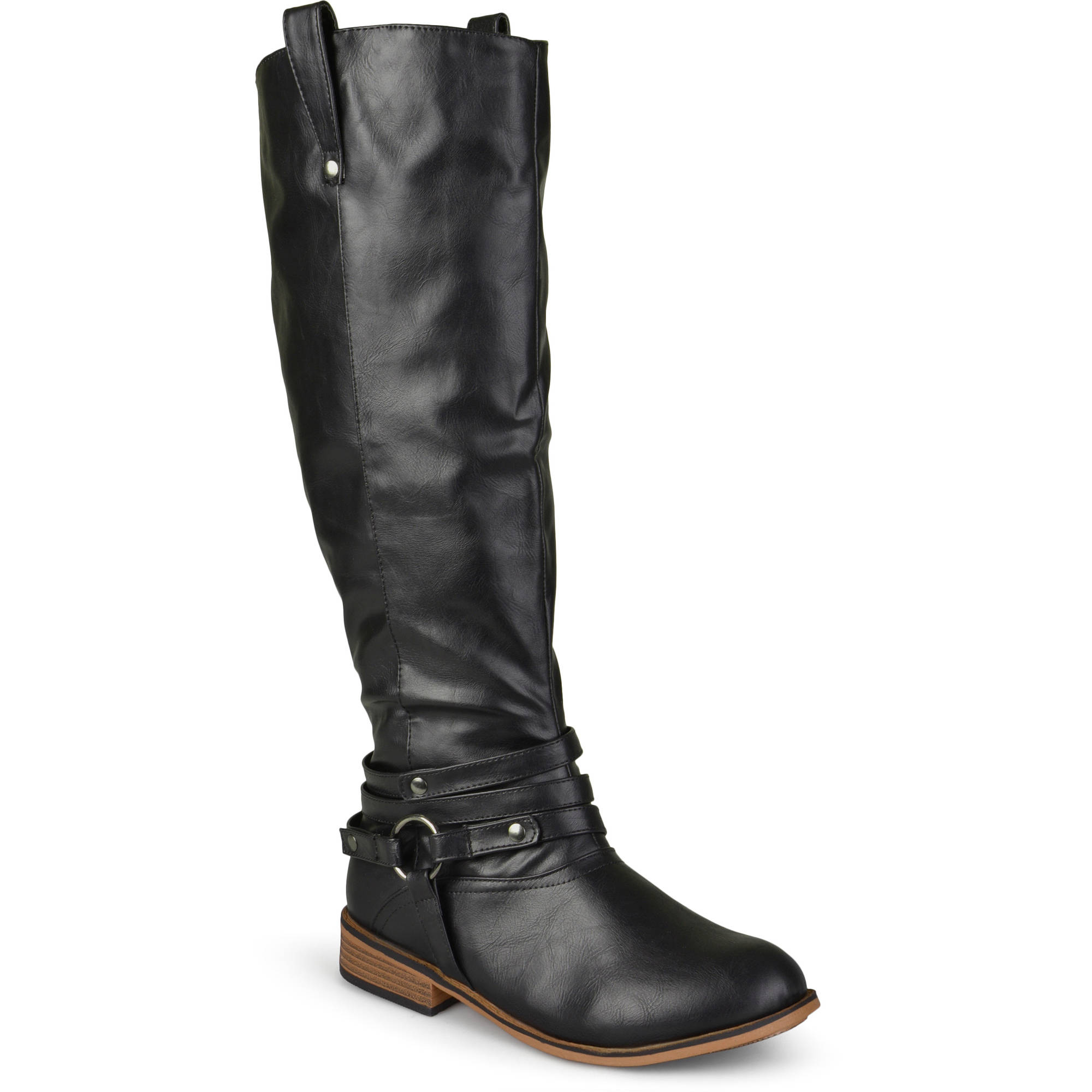 Brinley Co. - Women s Mid-calf Riding Boots - Walmart.com 3301b7c9da