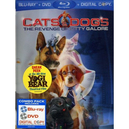 Cats & Dogs: The Revenge Of Kitty Galore (Blu-ray) (Widescreen)