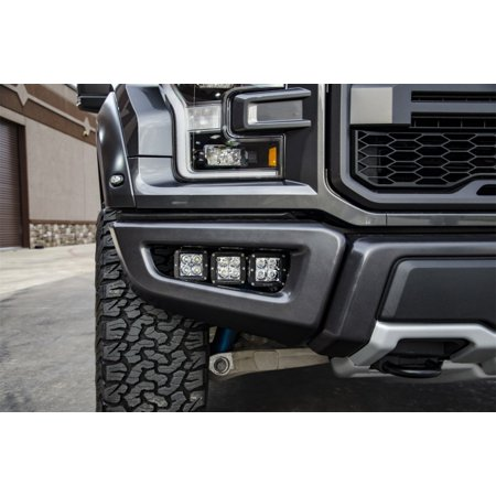 Raptor Black Bumper (N-Fab LBM Bumper Mounts 2017 Ford Raptor - Tex. Black )