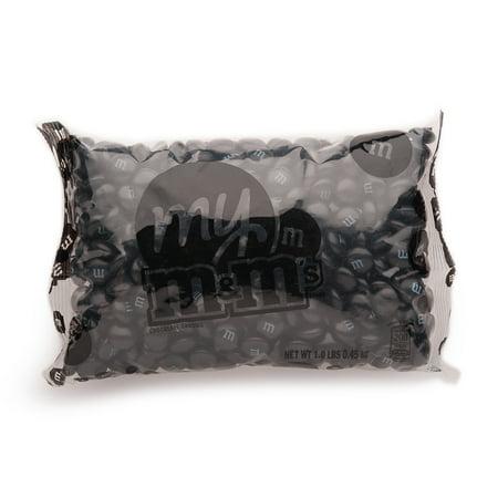 Black Caddy (Black M&M'S® Bulk Candy Bag (1lb) )