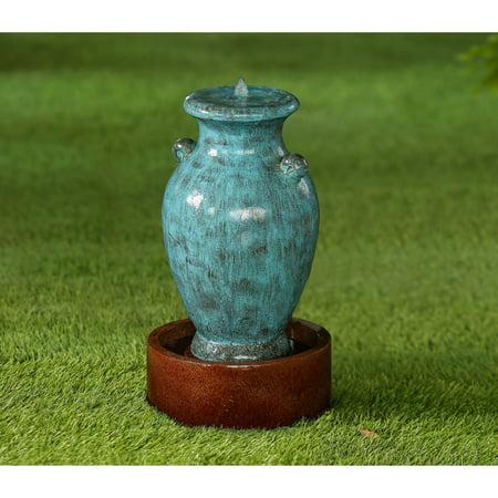 Blue Urn Fountain