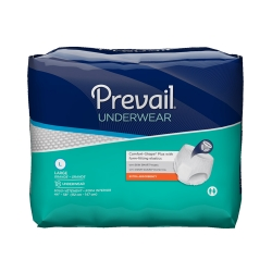 Underwear Prevail Extra Pull On Large Disposable Moderate Absorbency #PV-513
