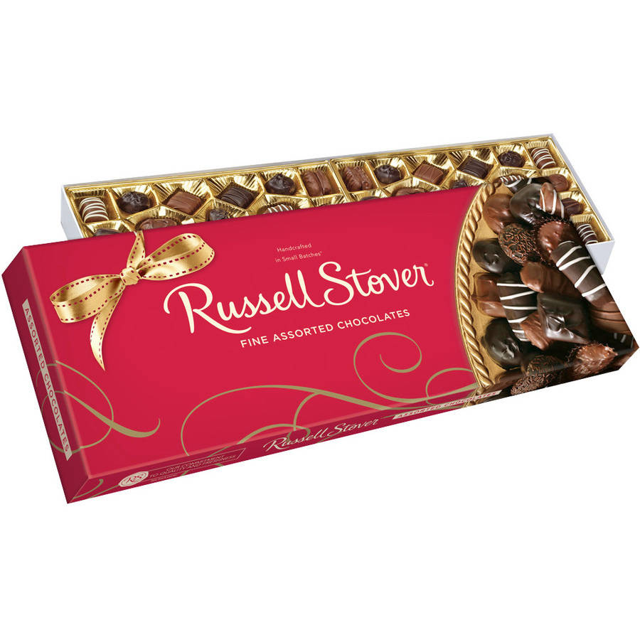 Russell Stover Fine Assorted Chocolates Holiday Gift, 1.6 lb