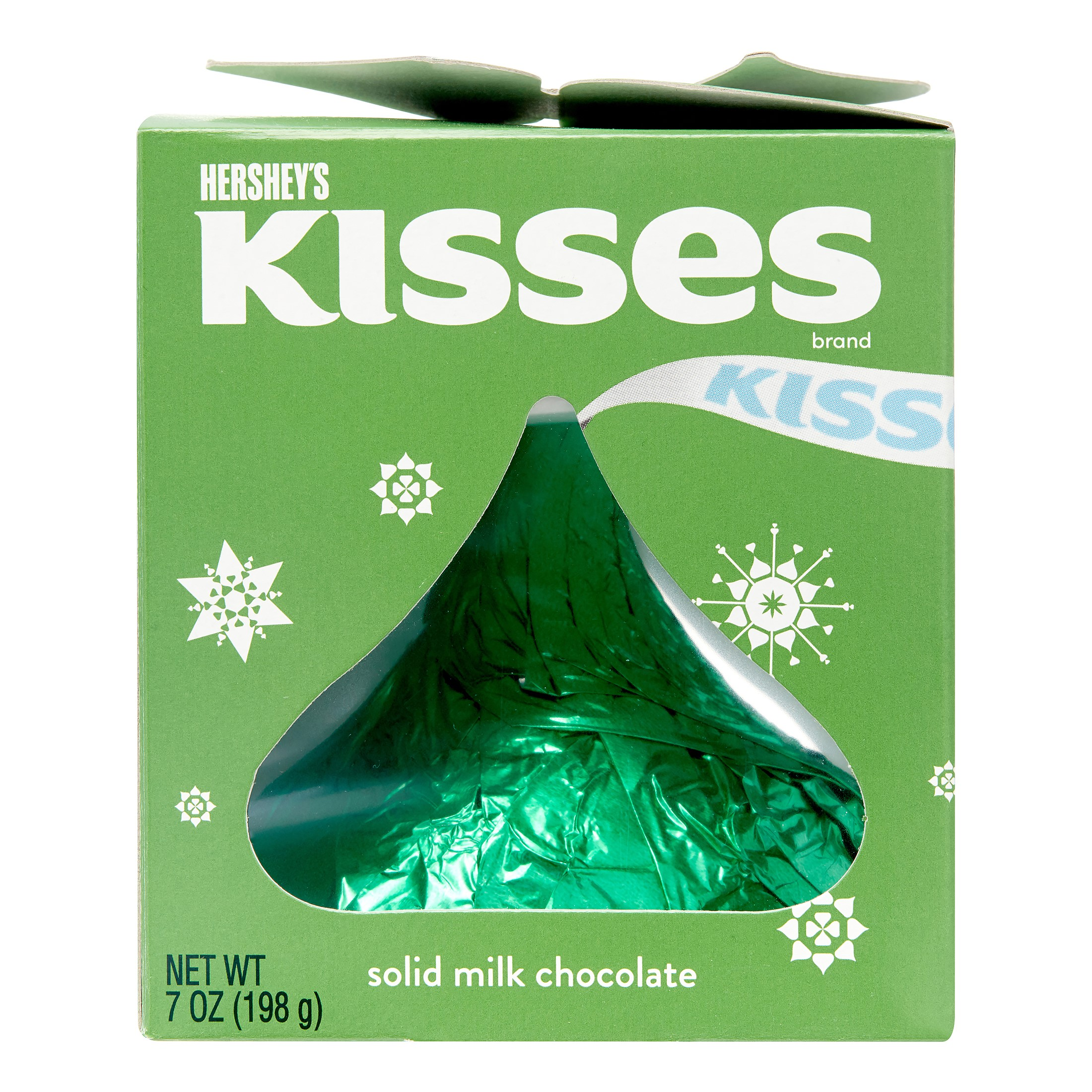 KISSES Giant Holiday Milk Chocolate, 7 Oz