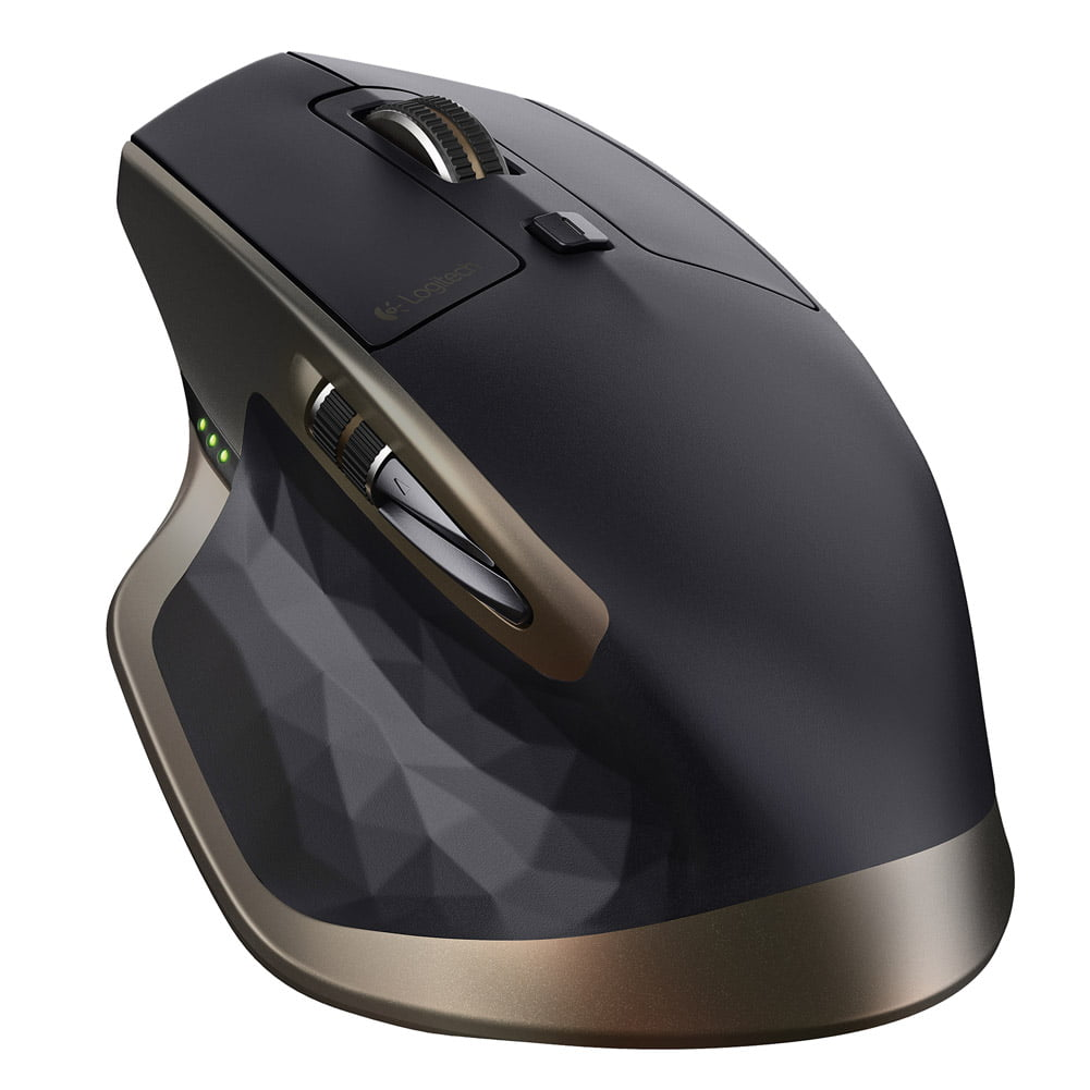 Logitech MX Master Wireless Mouse w  Darkfield Laser Tracking (Right-Handed) by Logitech