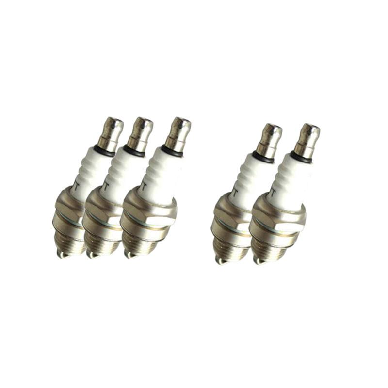 5 Spark Plug For Iskra Fsc75cpr Motorcraft A22nx Torch L6rtc L7rtc L8rtc L8rtf Walmart Com Walmart Com