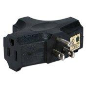 QVS 3-Outlets 3-Prong Power Outlet Splitter