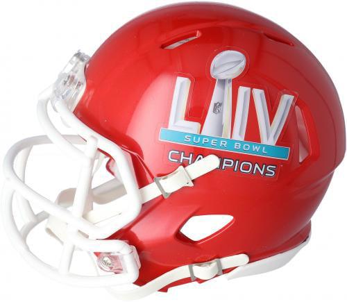 Damien Williams Kansas City Chiefs Super Bowl LIV Champions Autographed Super Bowl LIV Pro Football withSB LIV CHAMPS Inscription Fanatics Authentic Certified