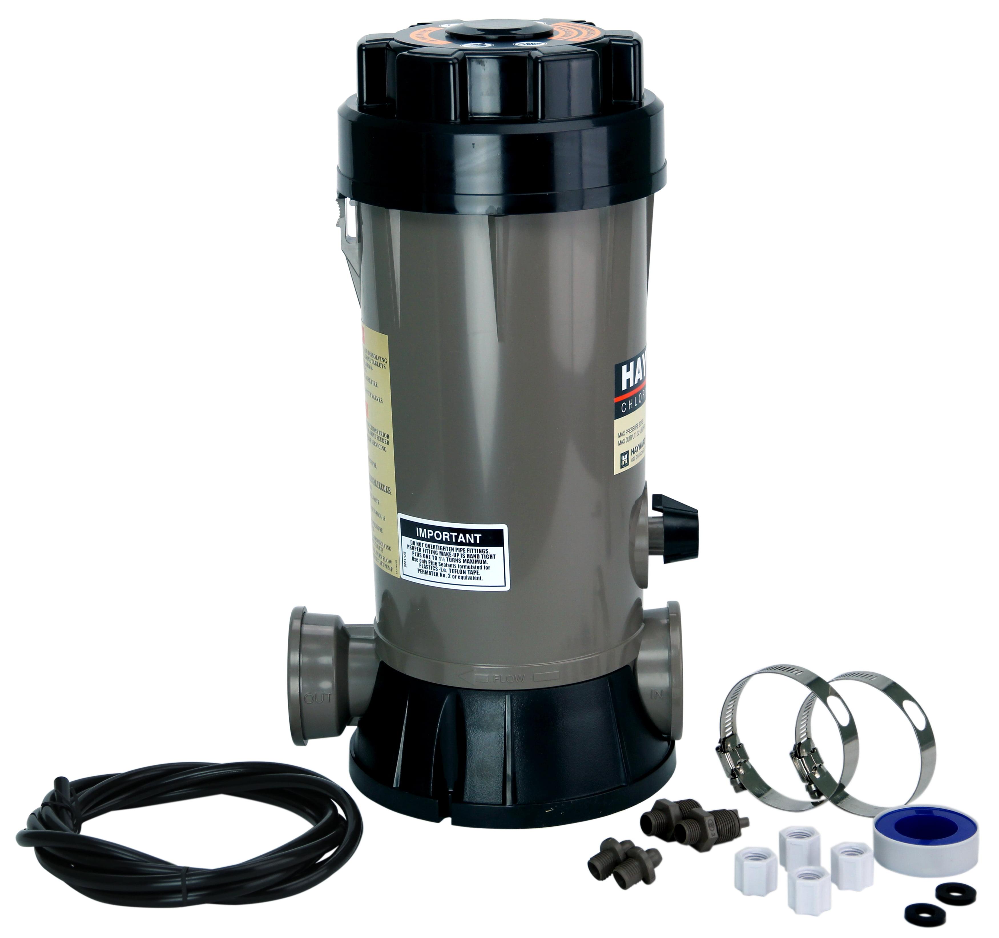 dispenser ip chlorine large feeder blue wave pools canada en floating walmart automatic for
