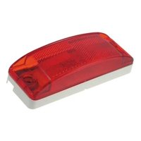 GROTE 46862 Clearance/Marker Lamp,Relfex Lens,Red