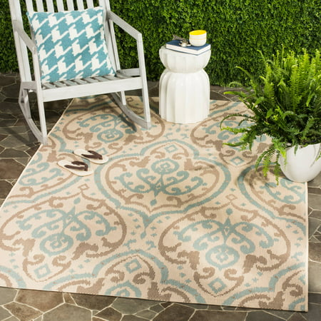 Safavieh Martha Stewart Mervyn Damask Indoor/Outdoor Area Rug - Martha Stewart Halloween Treat Bags