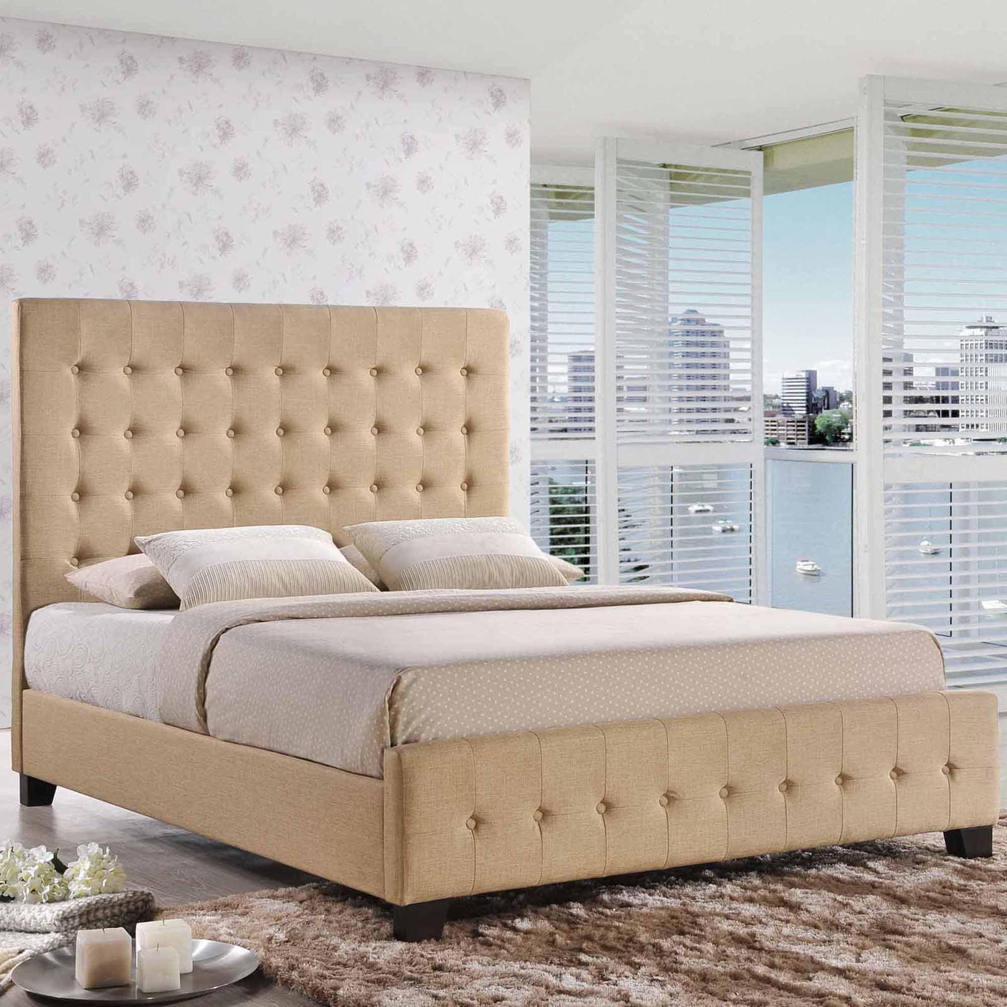 Modway Skye Full Upholstered Platform Bed, Multiple Colors