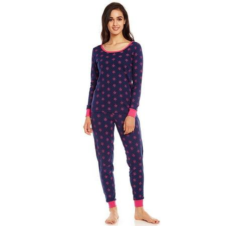 Leveret Women 2 Piece Pajama Set 100% Cotton Stars Medium 2 Piece Stars Pajama Set