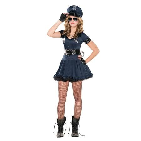 Teenager's Locked N' Loaded Cop Costume
