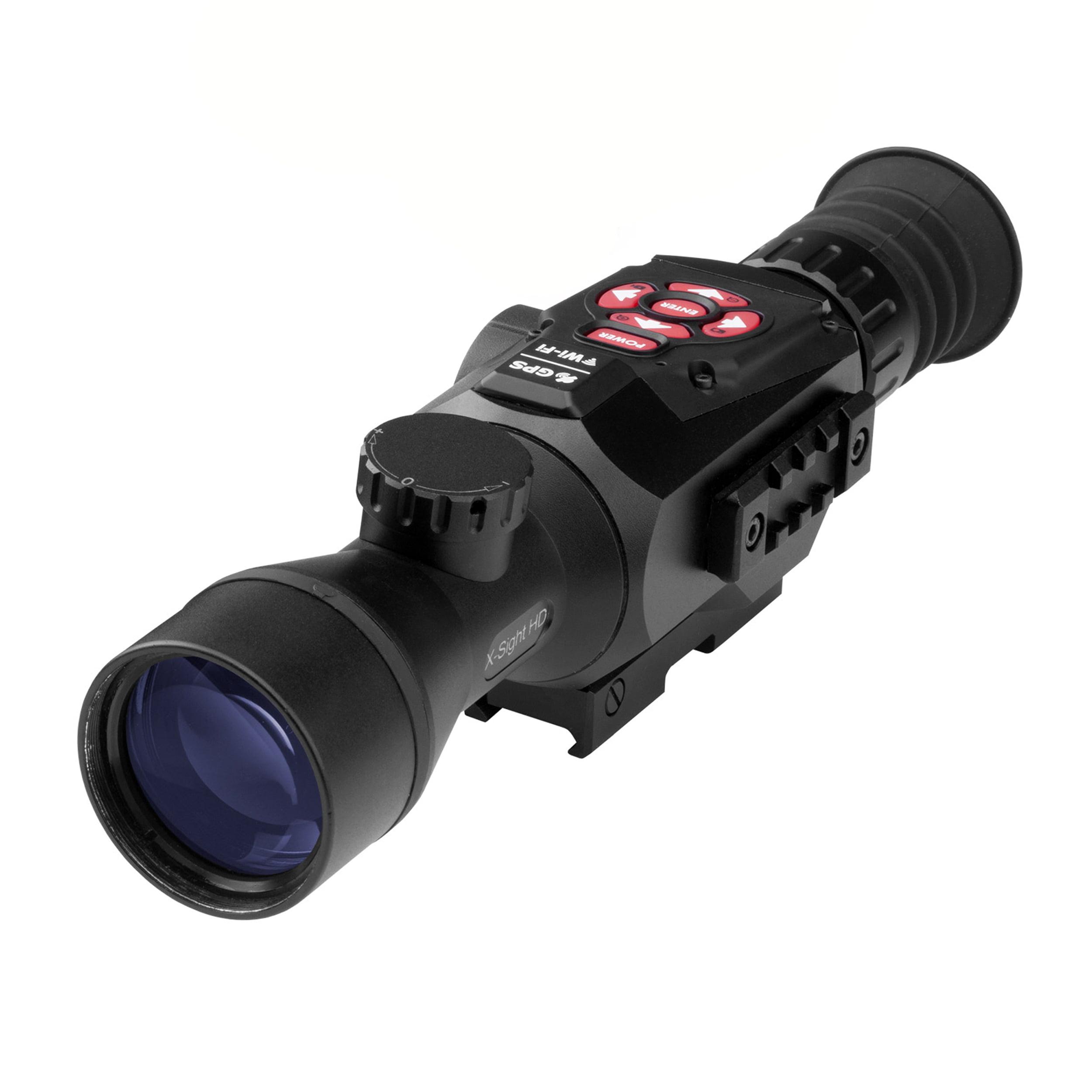 ATN Corporation X-Sight II long gun optic 3-14x Smart HD Digital NV, Matte Black