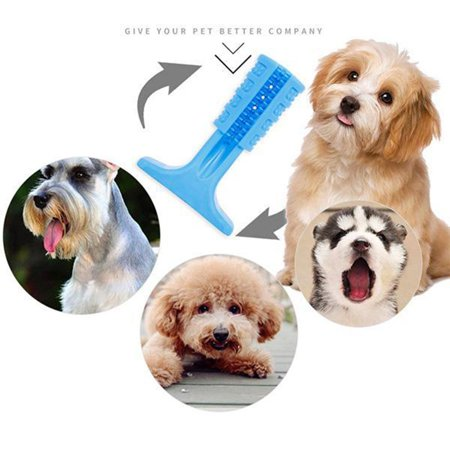 Silicone Molar Stick Rubber Bite Bar Pet Teeth Cleaning Dog Toy Toothbrush - image 8 de 10