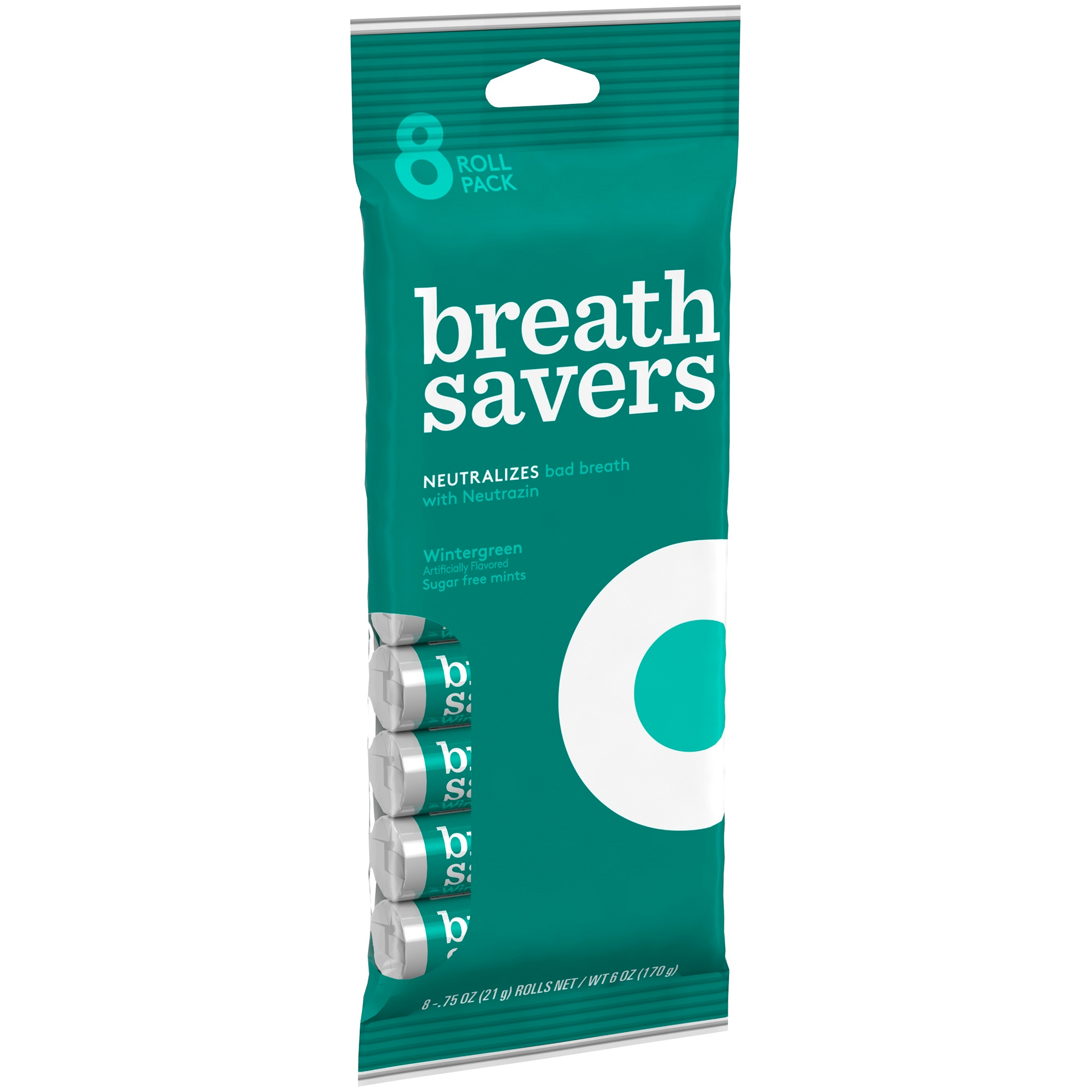 Breath Savers Wintergreen Mints 8-.75 oz. Packages by Generic