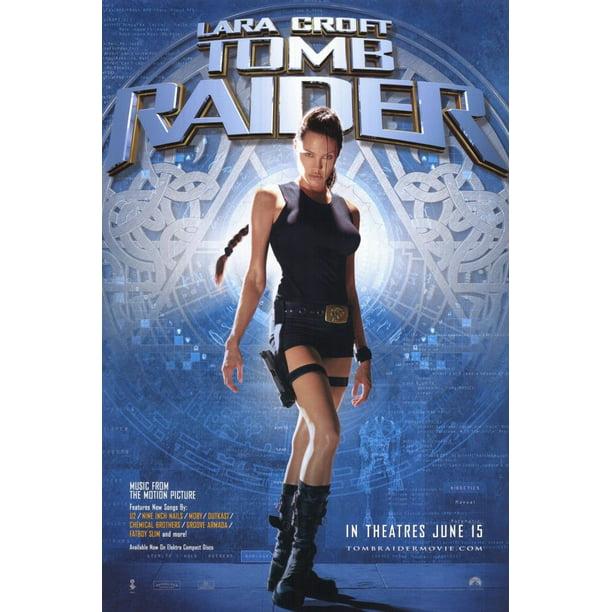 Lara Croft Tomb Raider 2001 11x17 Movie Poster Walmart Com