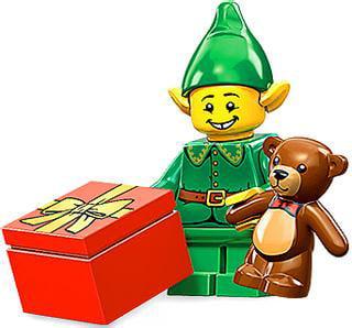 LEGO Series 11 Holiday Elf Minifigure