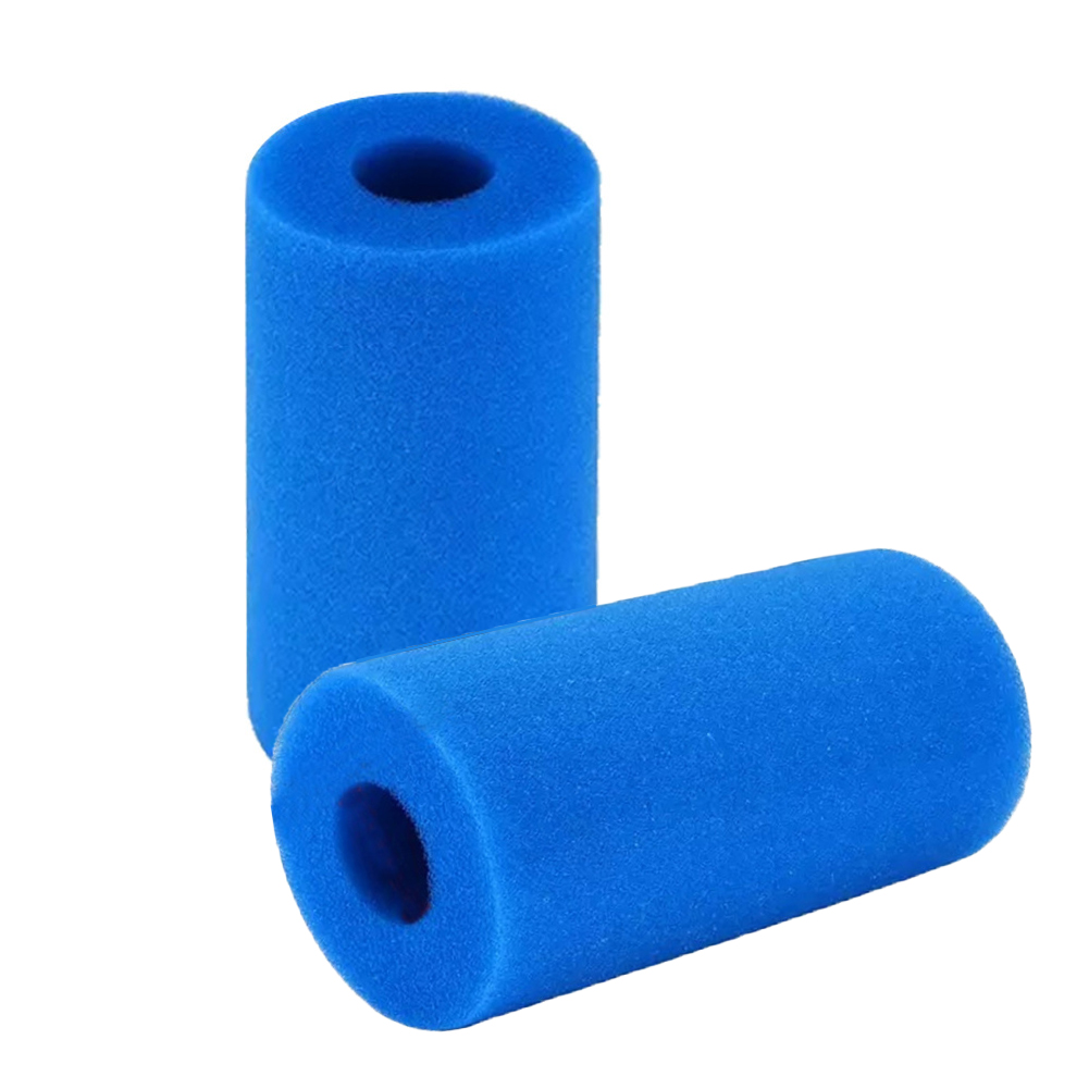 Type S1 Washable Swimming Pool Filter Swimming Pool Sponge Cartridge Filter Compatible with Intex Type S1 3Pack, Black