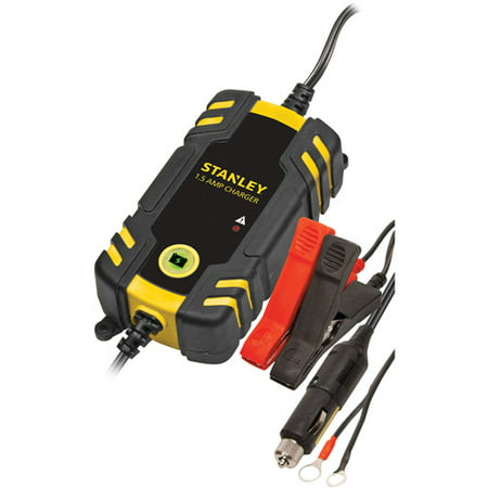 STANLEY 1.5 Amp Battery Charger / Maintainer (Best Lipo Battery Charger 2019)