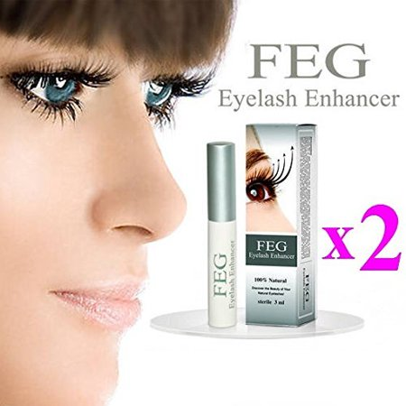 2 PCS FEG Eyelash Growth Thicker Nourishing Enhancer Eyelash Serum Pure Natural For Longer & Darker Eyelash Eyelash Thicker - Eyelash Hair Growth