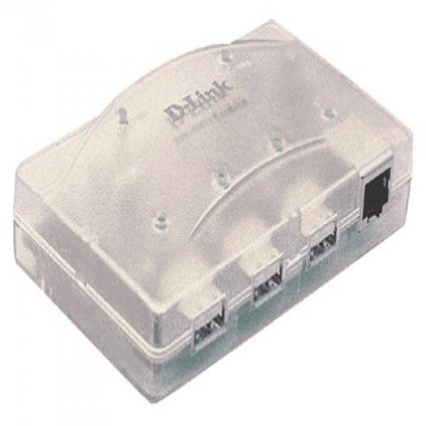 D-Link USB Hub and 10/100 Ethernet Port