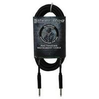 RapcoHorizon SilverHog Guitar Cable, 18 ft