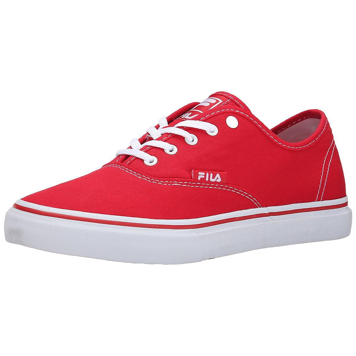 Fila Classic Men's Red White Canvas Shoe by Fila