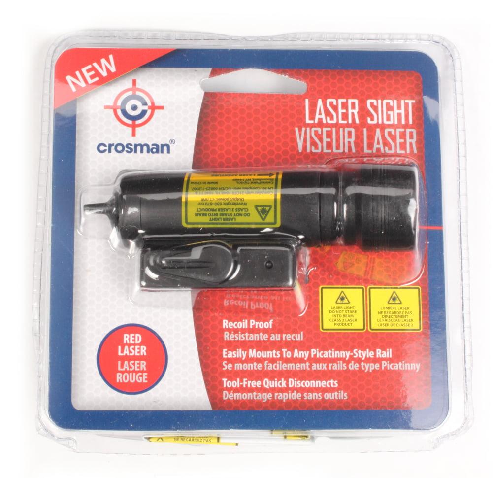 Crosman 71599 Picatinny Mount Class II Red Laser Sight by Crosman
