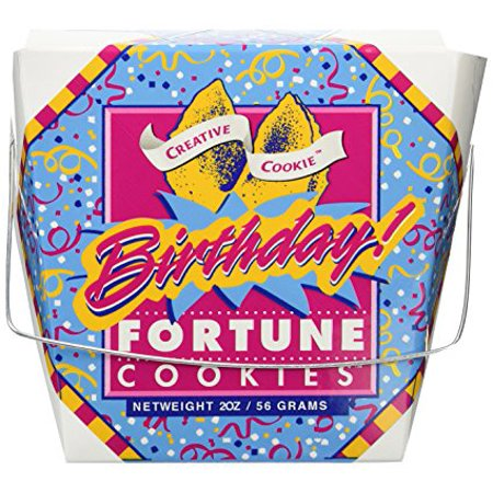 Happy Birthday Fortune Cookies – Unique Gourmet Gift - Kosher
