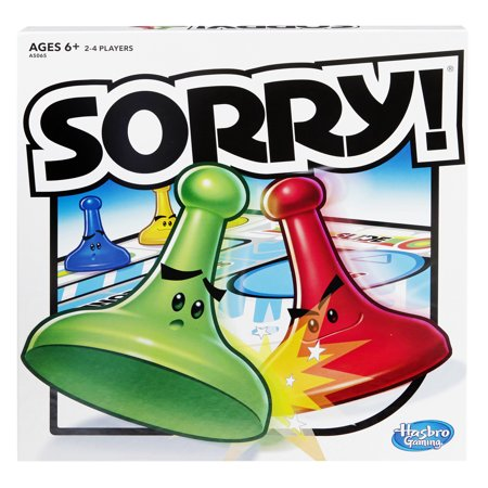 Sorry! Board Game, Ages 6 & Up