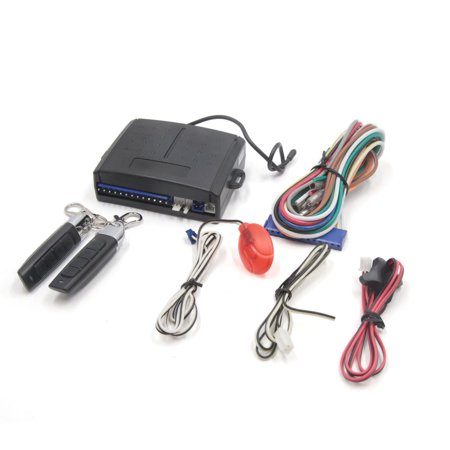 1 Set Universal Auto Car Immobilizer Lock Alarm System Anti Theft Protection ()