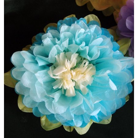 Turquoise Blue Flower - Quasimoon 16