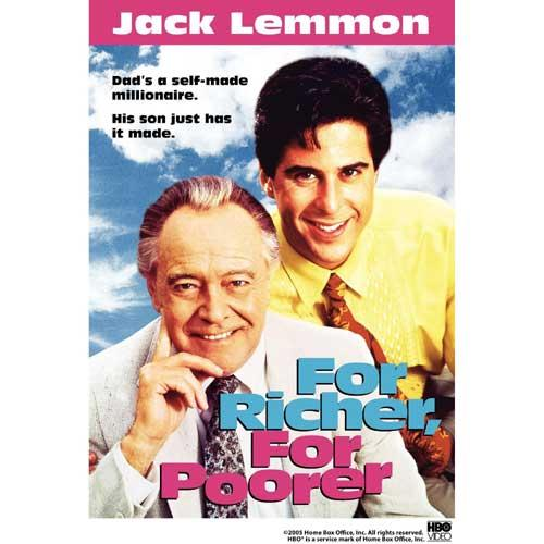 For Richer, For Poorer (1992) DVD Movie Jack Lemmon