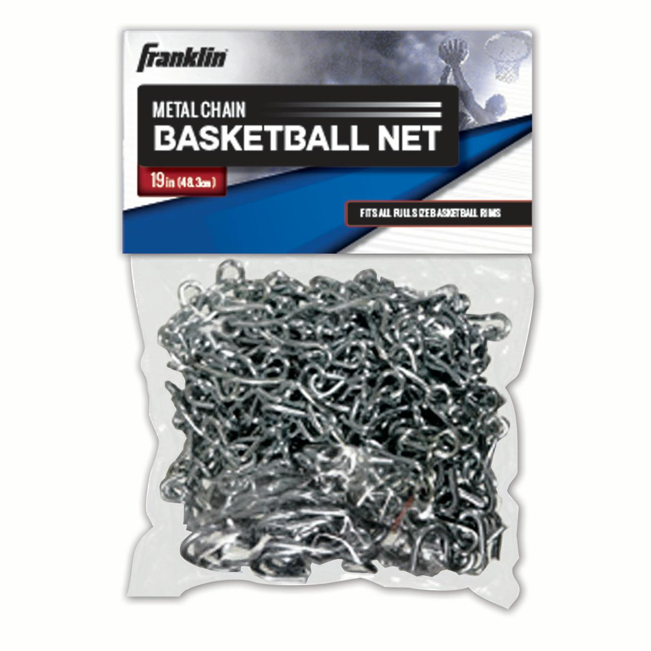 Franklin Sports Metal Chain Basketball Net