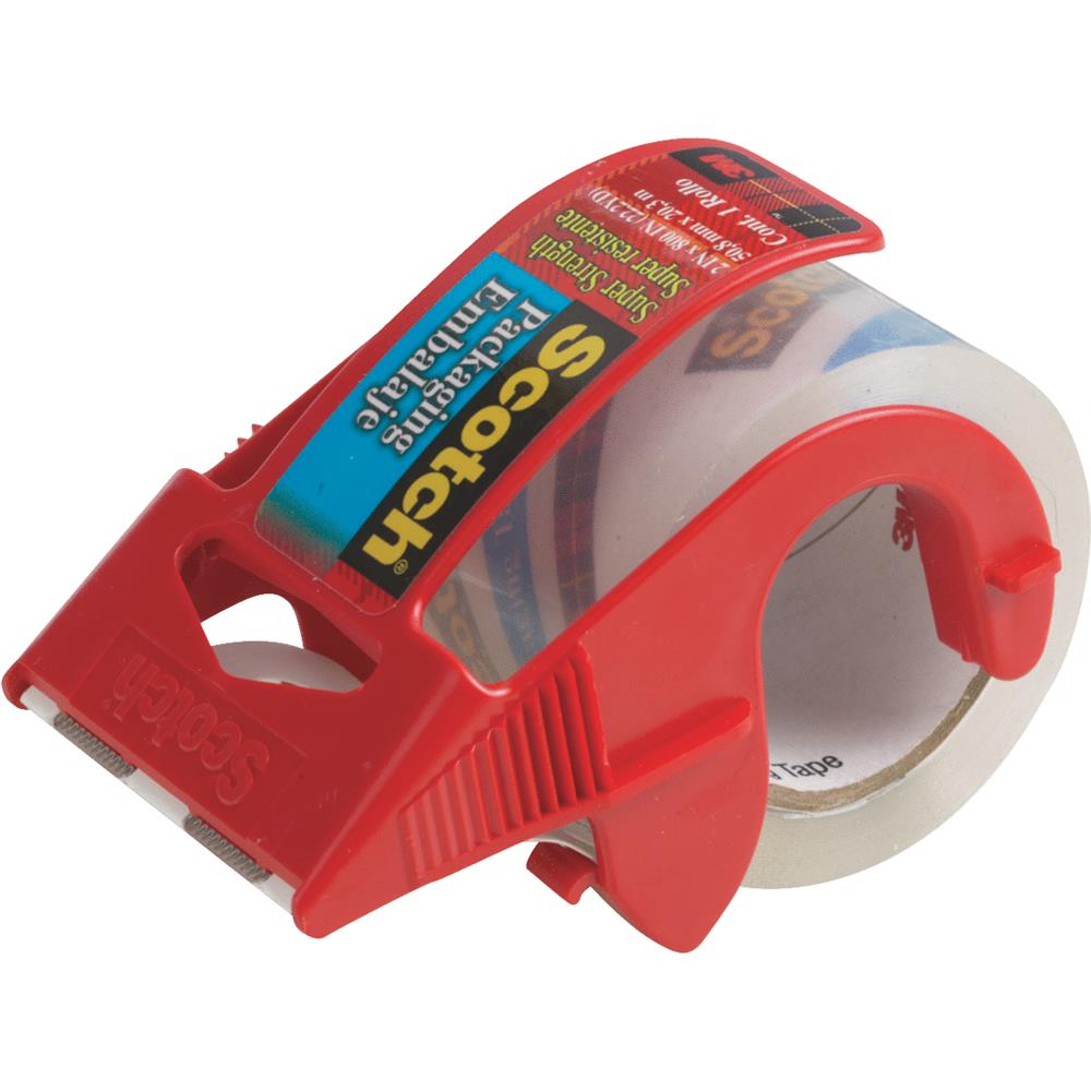 3M 2x800 Clear Packaging Tape 341