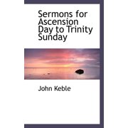 Sermons for Ascension Day to Trinity Sunday