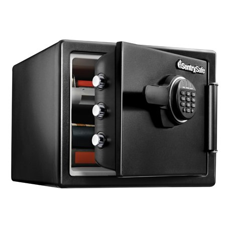 SentrySafe SFW082ET Fire-Resistant Safe and Waterproof Safe with Digital Keypad 0.82 cu ft