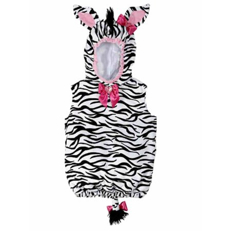 Koala Kids Infant Girl Plush Black White Stripe Baby Zebra Costume - Girls Zebra Costume