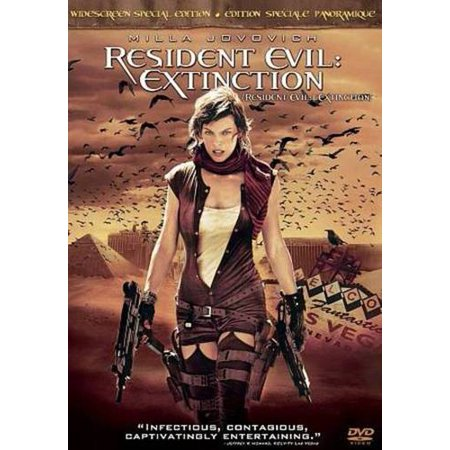 Resident Evil Extinction Dvd Canadian Special Edition
